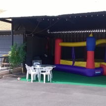 Bounce House Patio